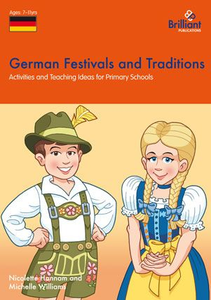Festivals and Traditions series by Brilliant Publications - German Festivals and Traditions, KS2