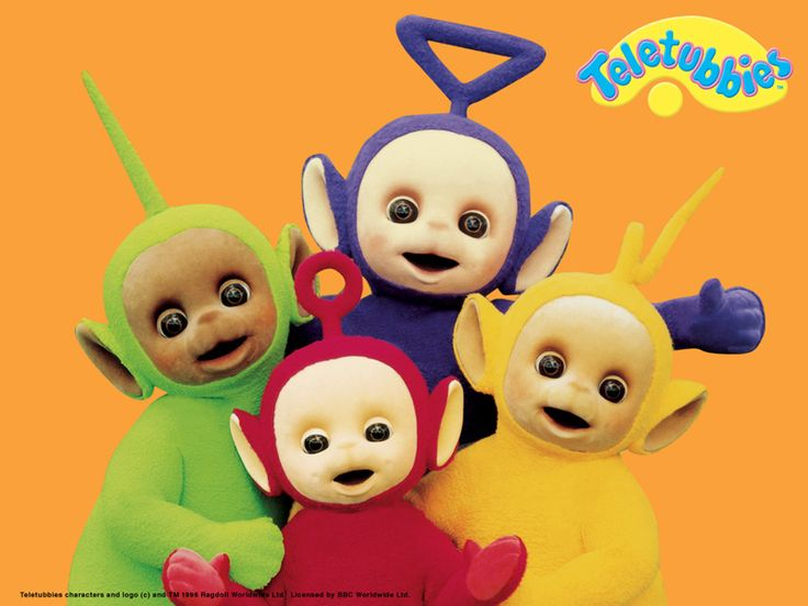 Teletubbies. Just because it was the only show to watch in Singapore besides the Smurfs!