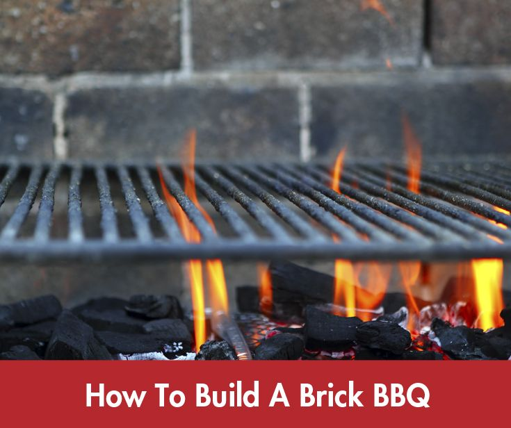 There is nothing like outside entertaining with friends and family at home. A brick #BBQ can provide hours of entertainment! #Summer