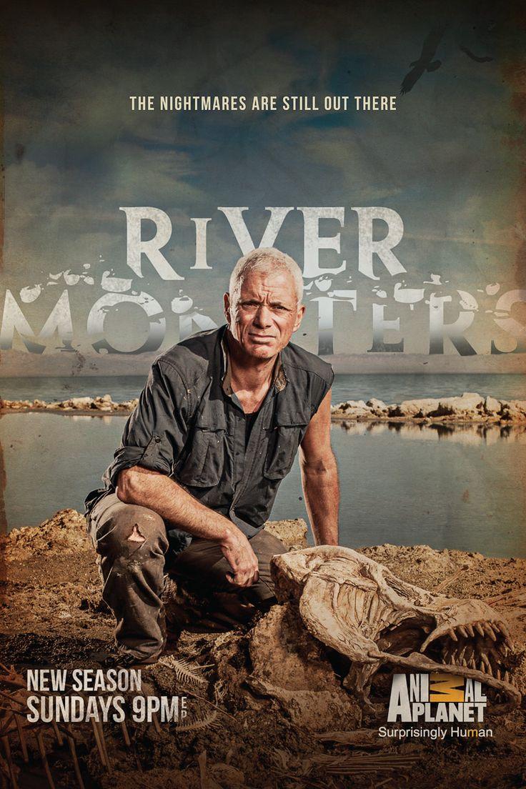 jeremy wade river monsters   David Johnson Shoots Jeremy Wade for New 'RIVER MONSTERS' Poster