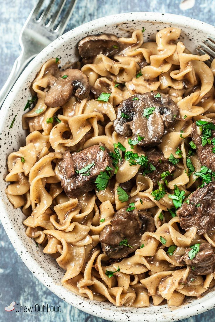 Instant Pot Beef Stroganoff Recipe In 2018 Pressure Cooker