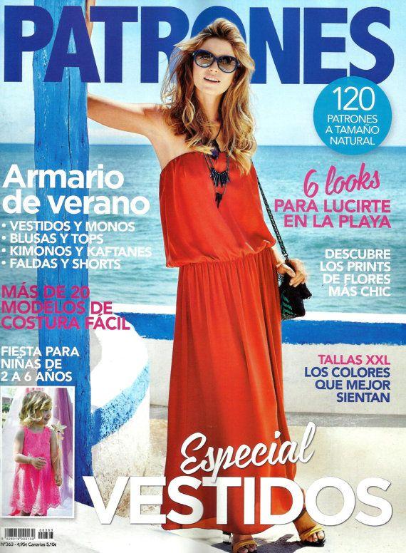 PATRONES revista Vestidos Especial 363.-