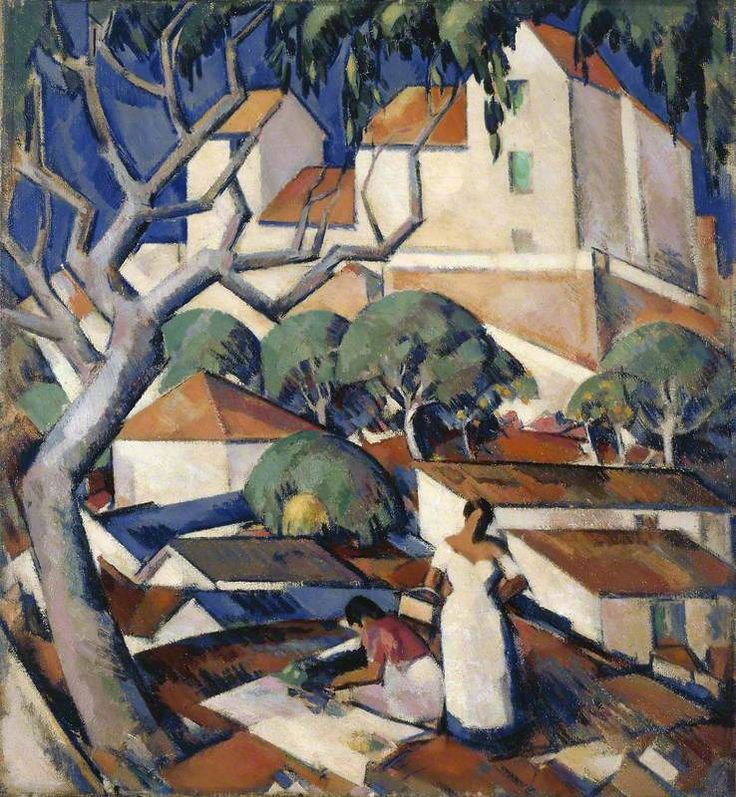 John Duncan Fergusson (Scottish, 1874–1961) - Christmas Time in the South of France, 1922