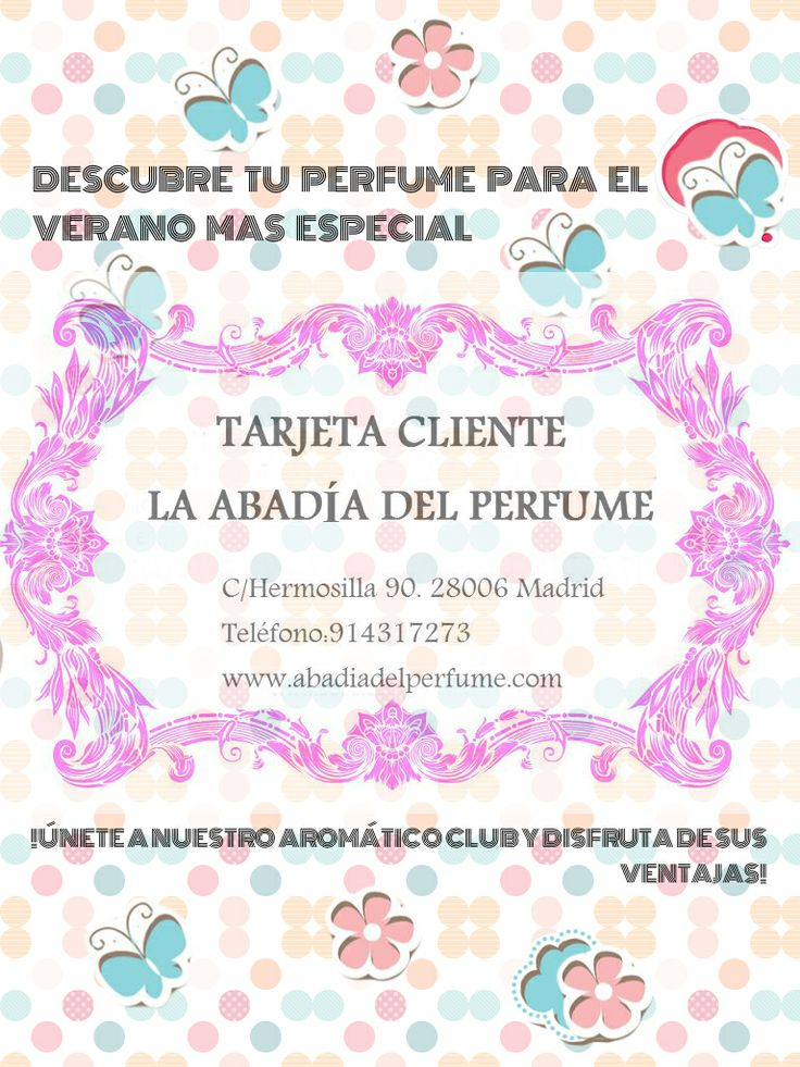 Llega el verano!!! Y es hora de renovar nuestros perfumes por otros aromas más sugerentes y alegres, ¿te unes a nuestro club? #verano #perfume