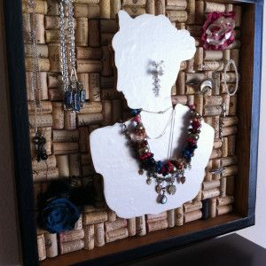 17 Interesting DIY Fashion Ideas - Fashion Diva Design - cork board jewelry display