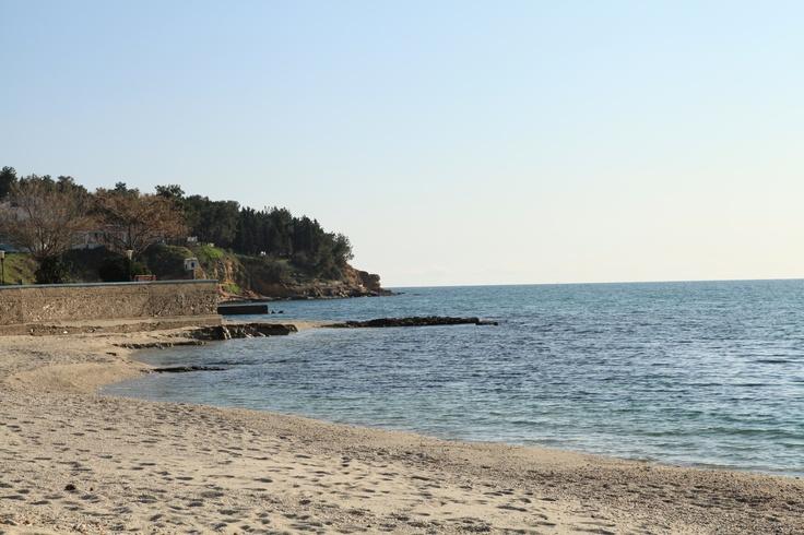 beach of Fanari, Greece