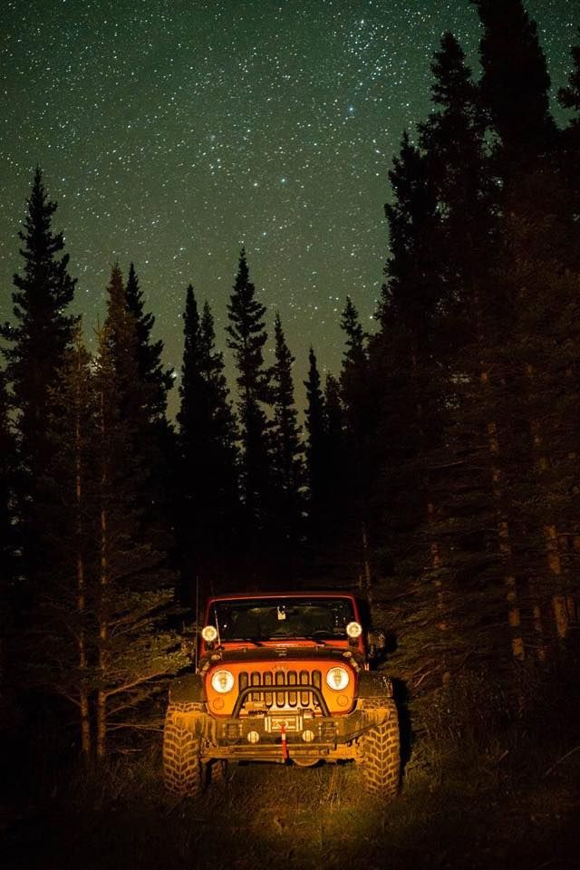 Jeep night vision