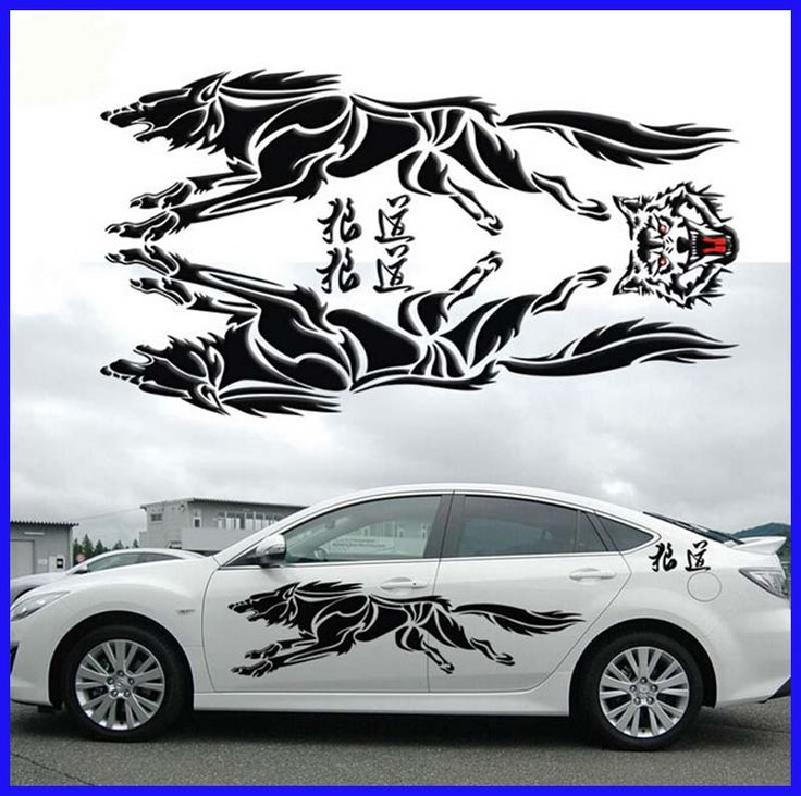 Best Car Stickers Images On Pinterest Car Stickers Drawings - Custom vinyl decals for car hoodsowl full color graphics adhesive vinyl sticker fit any car hood