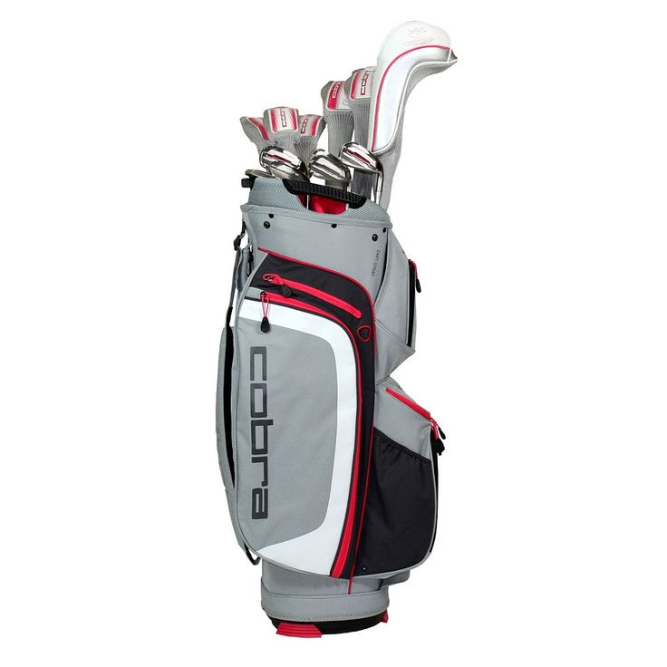 Women's Cobra Max Right Hand Complete Golf Clubs & Stand Bag Set, Pink