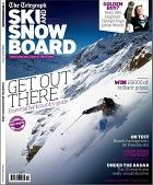 Telegraph Ski and Snowboard Magazine - Telegraph £4.50 picked this up for Ivan boarding talk on a van while there's no snow!