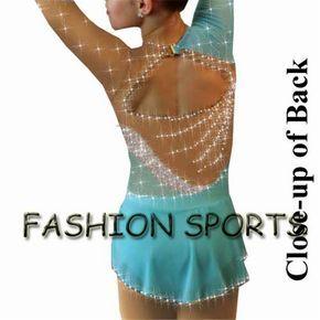 Vendite calde pattinaggio di figura abiti per le ragazze bella brand new pattinaggio su ghiaccio dress concorso HB1019