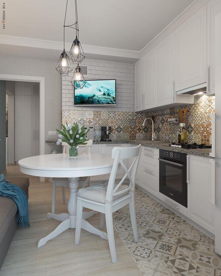 Кухня. #project #design #kitchen #интерьер #3d #визуализация #sav_design+