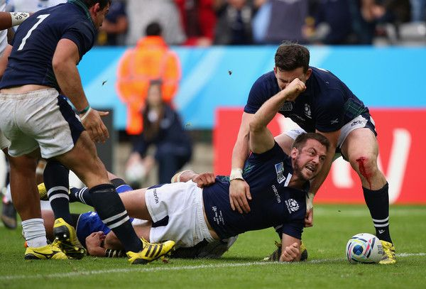 Samoa v Scotland - Group B: Rugby World Cup 2015. Greig Laidlaw.