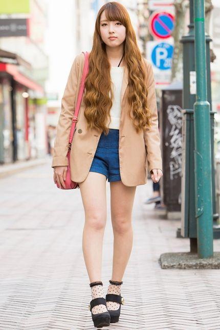 해외 스트리트 패션 - 일본 여자들의 봄 패션을 훔쳐보자!