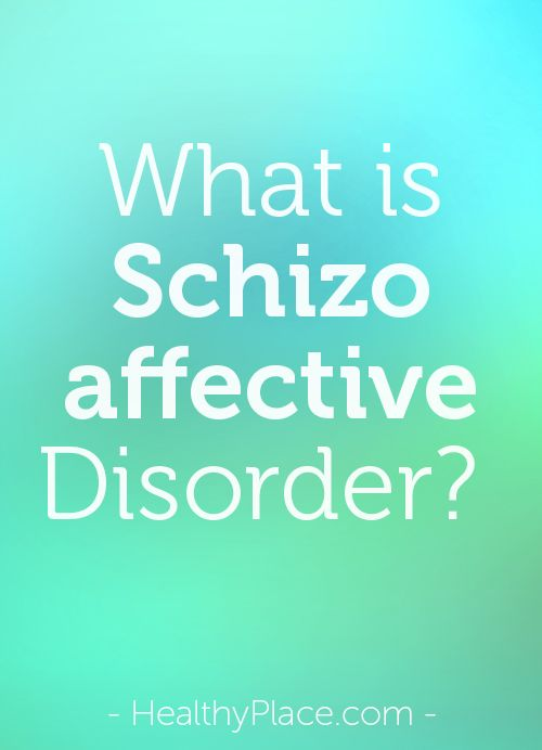 Schizoaffective disorder is a severe mental illness that contains both psychosis and mood disturbance. In-depth schizoaffective disorder information.    www.HealthyPlace.com