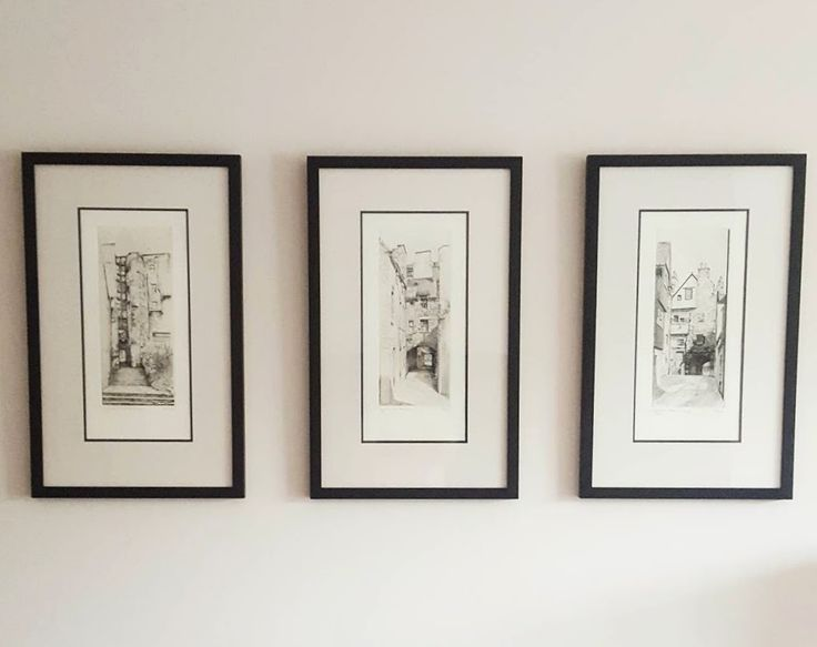 Edinburgh closes. Brodie Close. Advocates Close. Bakehouse Close. Prints. Black frames.