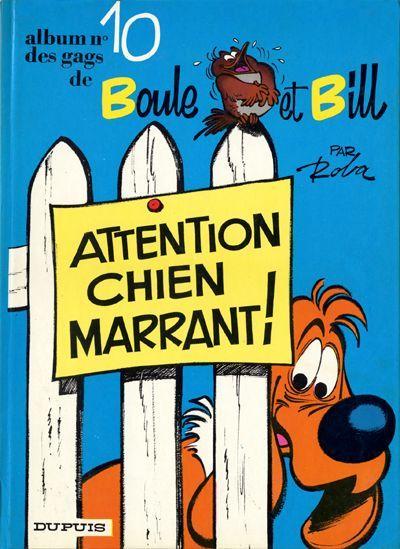Boule et Bill (10) - Attention chien marrant !