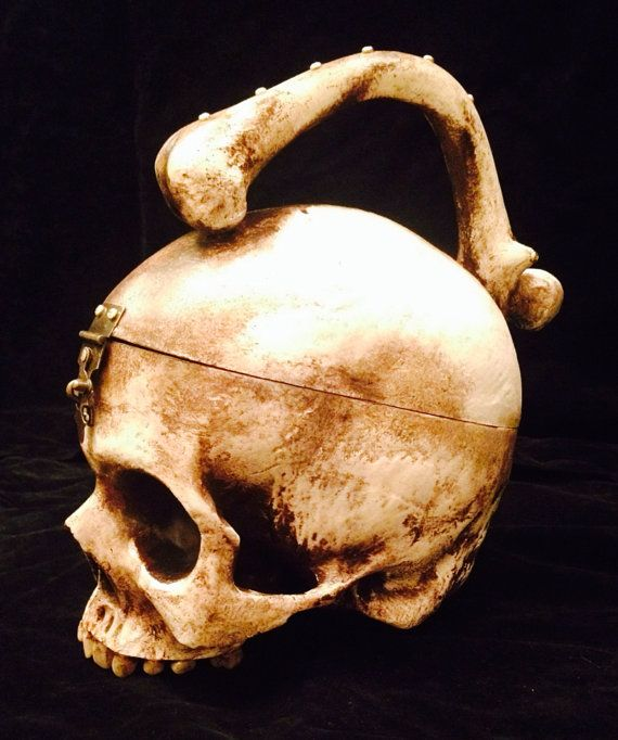 Skull Purse by PoisonedStudios on Etsy, $200.00