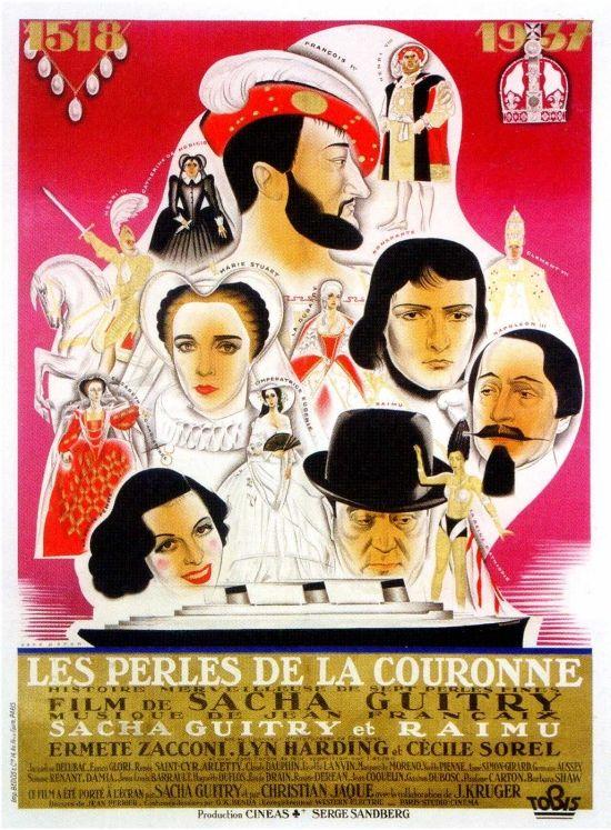 """Pour sa première grande fresque pseudo-historique Sacha Guitry lui fignole le rôle d'une reine d'Abyssinie dans """"Les Perles de la couronne"""" (1937). Elle obtient un vif succès personnel dans une scène qui n'est autre qu'un sketch de revue..."""