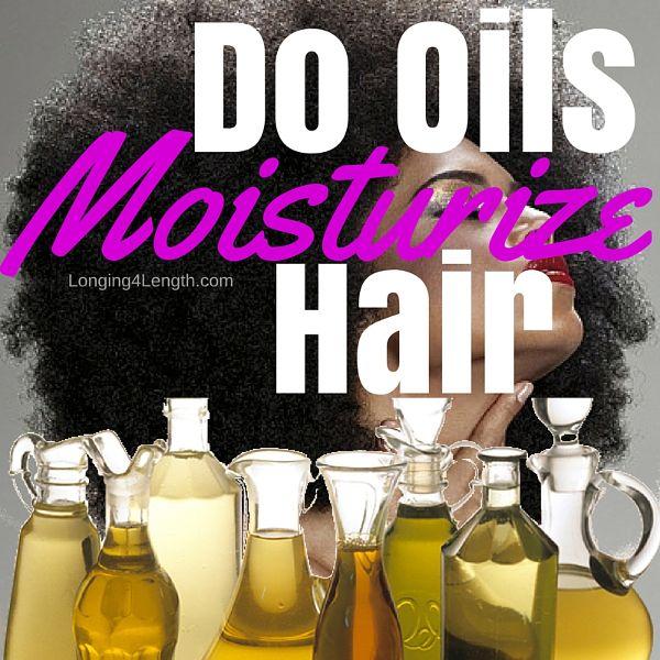 Back 2 Basics: Do Oils Moisturize Hair?