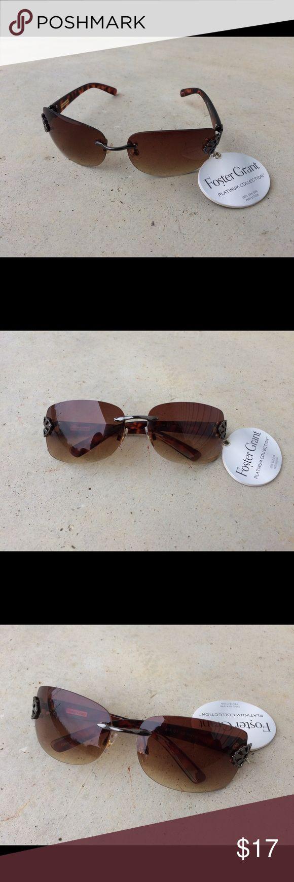 Foster grant sunglasses women eye wear brown shade Foster grant sunglasses women eye wear brown shade Foster Grant Accessories Sunglasses