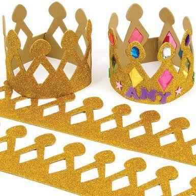 courronne des rois à décorer courronne en mousse pour enfant avec décoration pas cher originale pour galette des rois.jpg, déc. 2013
