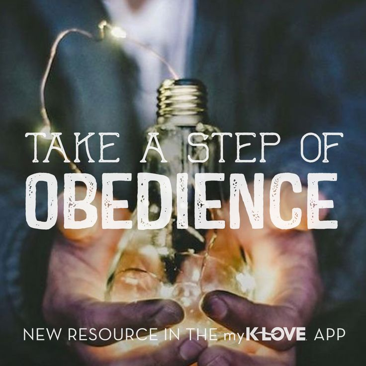 Are you putting off something God's asking you to do? Read about stepping out in obedience in the #myKLOVE app: http://klove.cta.gs/24w #KLOVE #app