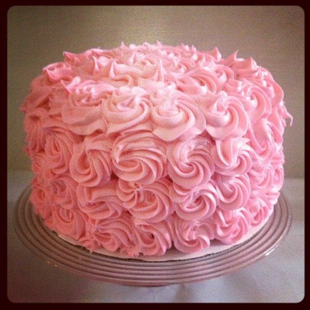 Vintage Birthday Cake by Sweet Box // We love!