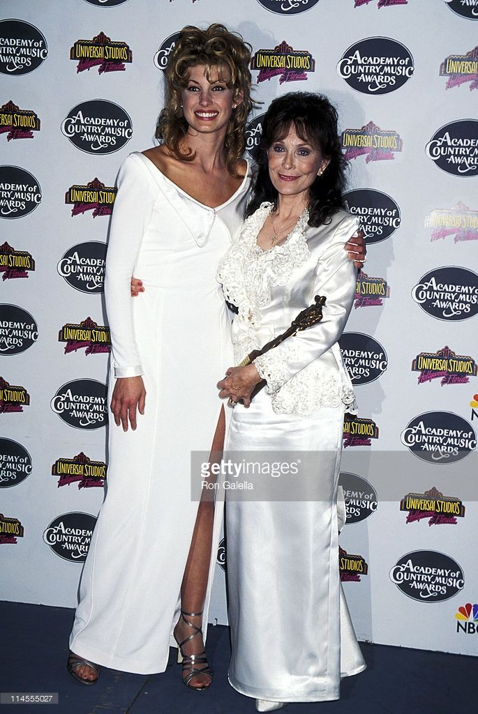Loretta Lynn Age 64, 1996 Ron Galella/getty images http://www.gettyimages.co.uk/detail/news-photo/faith-hill-and-loretta-lynn-during-30th-annual-academy-of-news-photo/114555027
