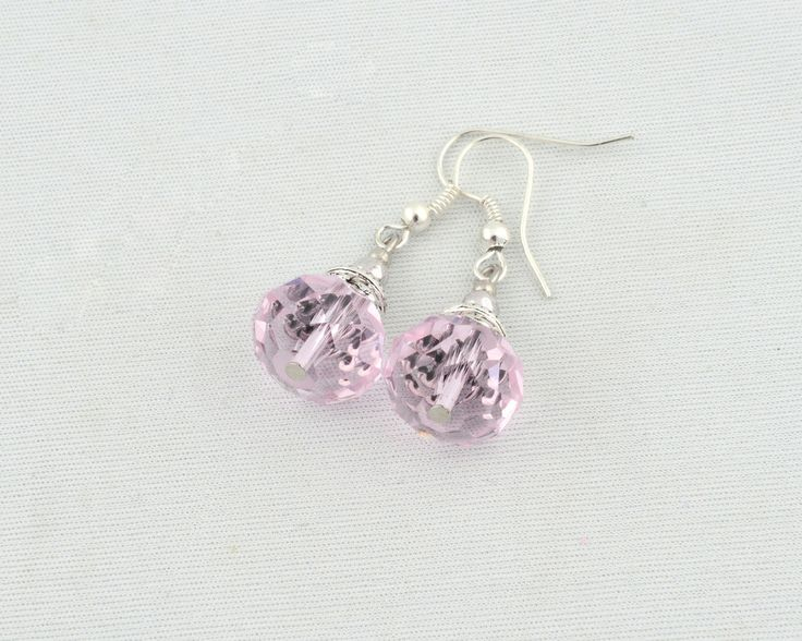 Handmade in Morocco in an ethically and environmentally friendly manner. Pink sparkle earrings! oneearthbydanielle@gmail.com - Free shipping! Get these for $22.95 + tax Canadian