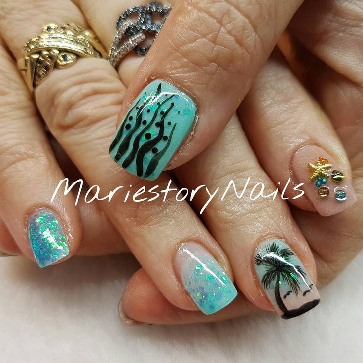 0 mentions J'aime, 1 commentaires – Mariestory Nails (@mariestorynails) sur Instagram : « #beachnails #vacationnails #glitternails #blingbling #nailswag #nailstagram #lovemanicure… »