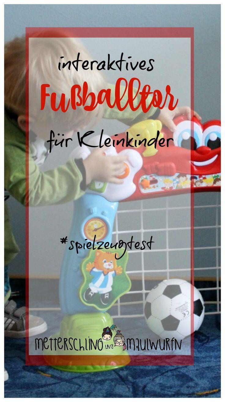 Fußballtor für kleinkinder - clementoni interaktiv