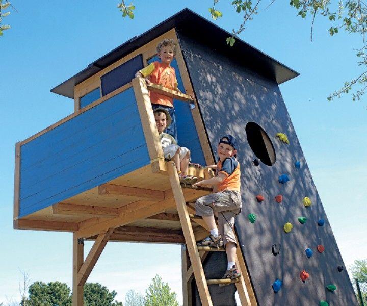 """Selbst ist der Mann - Bauplan 6/2007 """"Kletterhaus"""""""