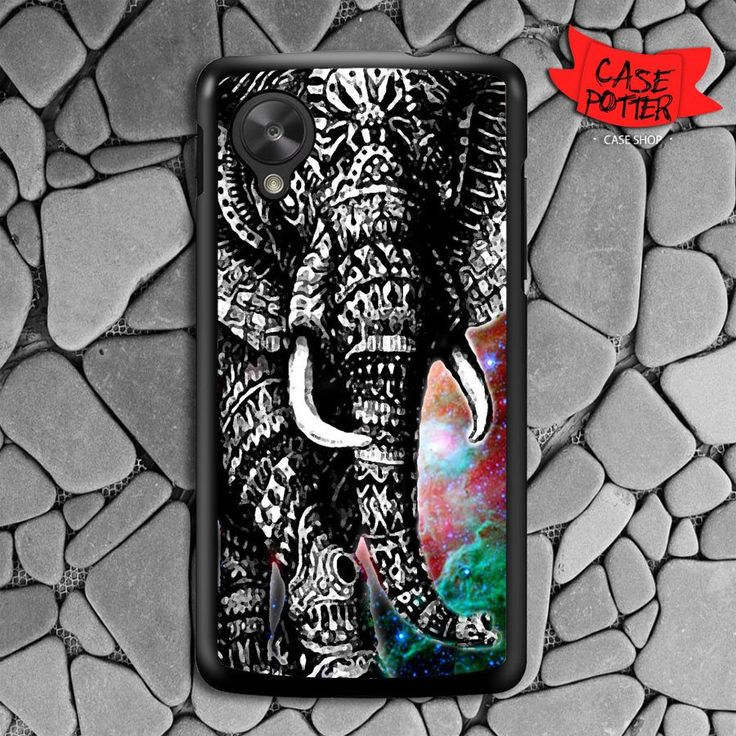 Aztec Black White Elephant Nexus 5 Black Case