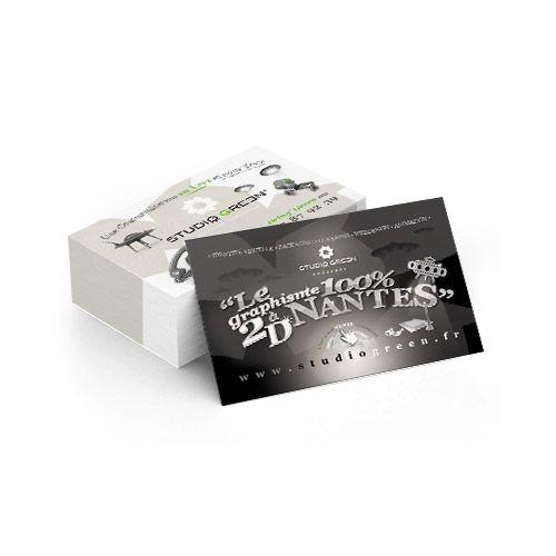 Création de cartes de visite - Studio graphique à Nantes