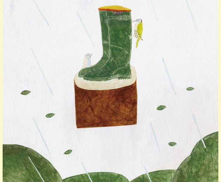 AIGLE×キツツキと雨 コラボレーションキャンペーン