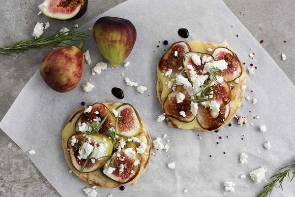 Fig, Goats Cheese & Rosemary gluten free pizza recipe