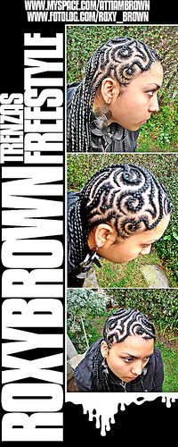 Join Now hairbraidingnetwork.com CRAZY ROADS  Black Hair designs