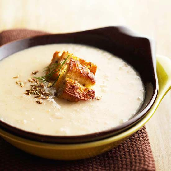 cream of roasted fennel soup fennel soup roasted fennel healthy soup ...