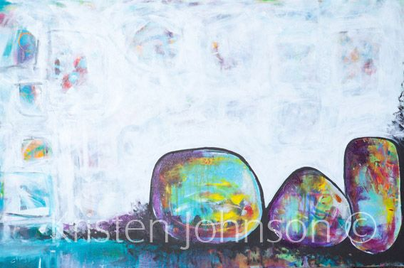 One of my favourite paintings, called 3 sista's.