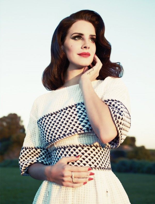 FASHION Magazine Summer 2013 issue photo shoot with Lana Del Rey. See more photos at http://www.fashionmagazine.com/blogs/fashion/2013/05/17/lana-del-rey-fashion-magazine-cover-shoot/