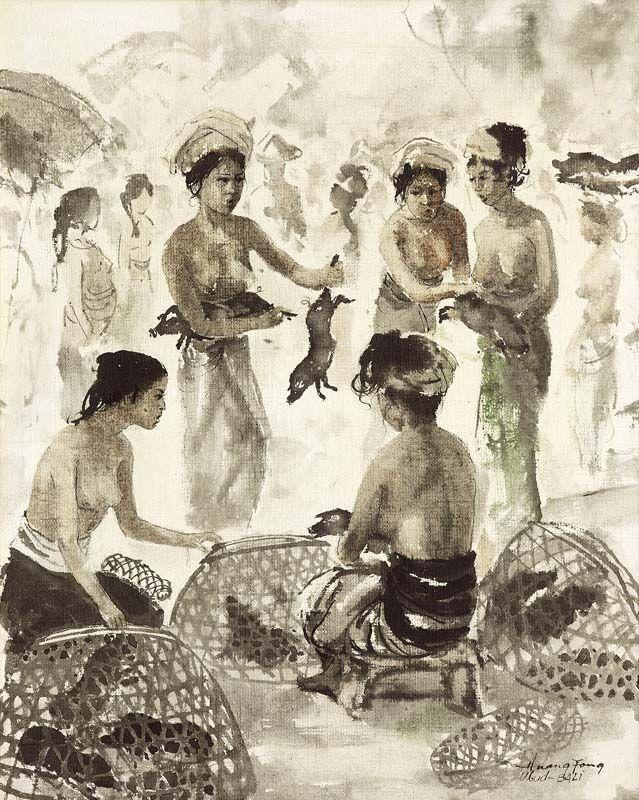 Huang+Fong - Penjual+Ayam