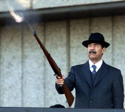 saddam hussain in one word school of leadership and control prople