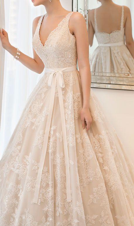 Love this, but strapless lace princess wedding dress,wedding dresses