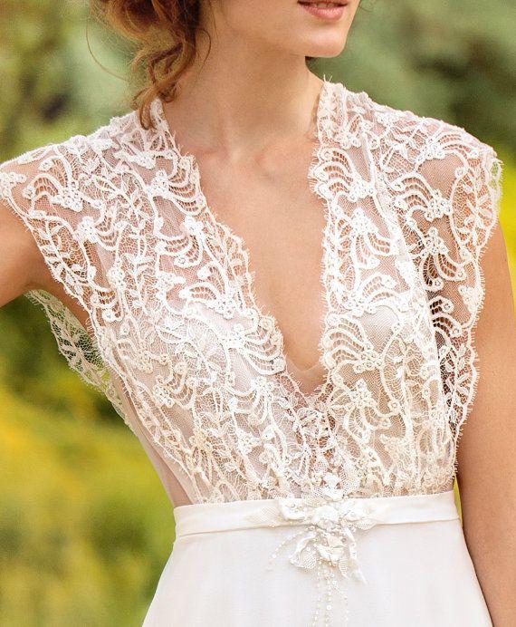 Offer wedding dress designer wedding gown bohemian beach for French wedding dress designers