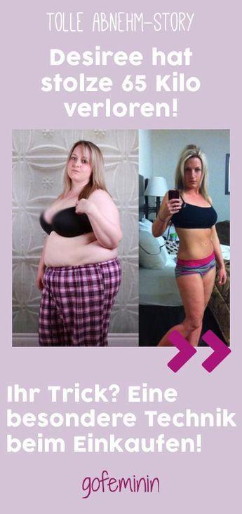 Sie verlor 65 Kilogramm – mit einem ganz einfachen Trick beim Einkaufen! – Betty-Anne Lauterbach