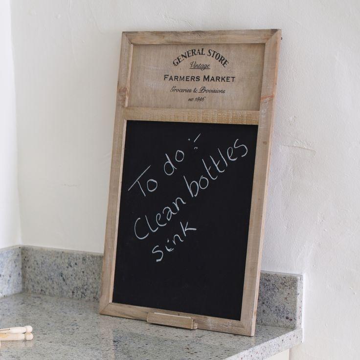 General Store Blackboard #gifts #kitchenware #board #notes