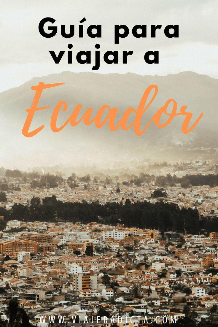 ¿Vas a viajar a Ecuador? Revisa esta guía para disfrutar al máximo tu viaje. Vas a encontrar datos sobre el clima, el transporte, el alojamiento y el presupuesto.