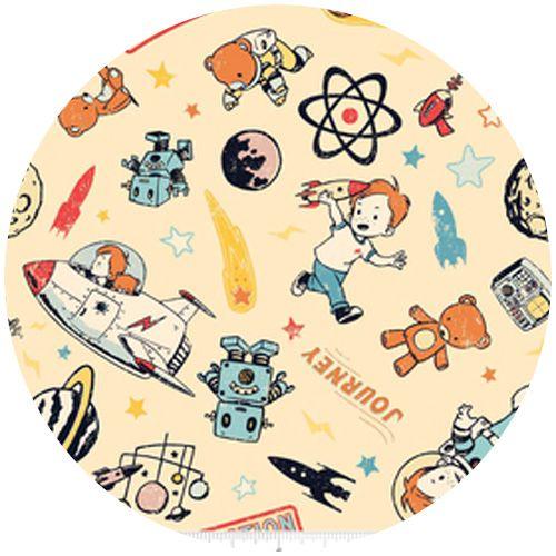 27 best fabrics i 39 m crushing on images on pinterest art for Space themed fabric hobby lobby