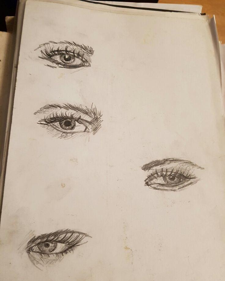 #oko #szkic #ołówek